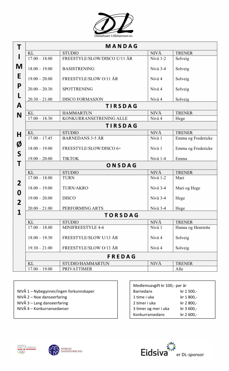 Timeplanhost2021